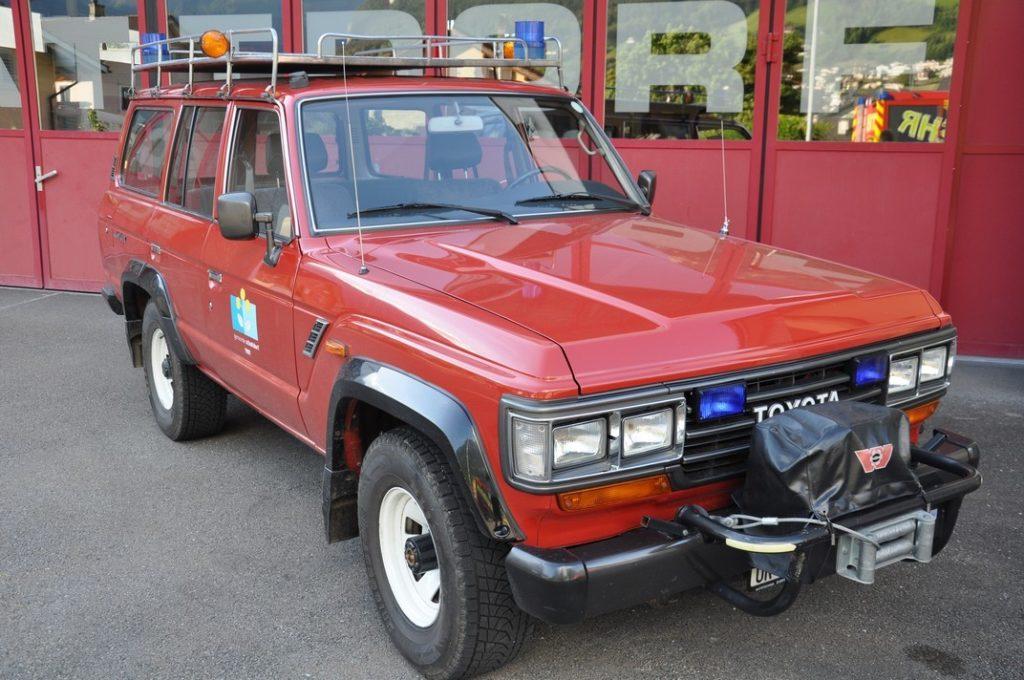 Mannschaftstransporter: Toyota Land Cruiser