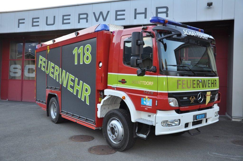 Tanklöschfahrzeug (TLF): Mercedes-Benz Atego2 1429AF