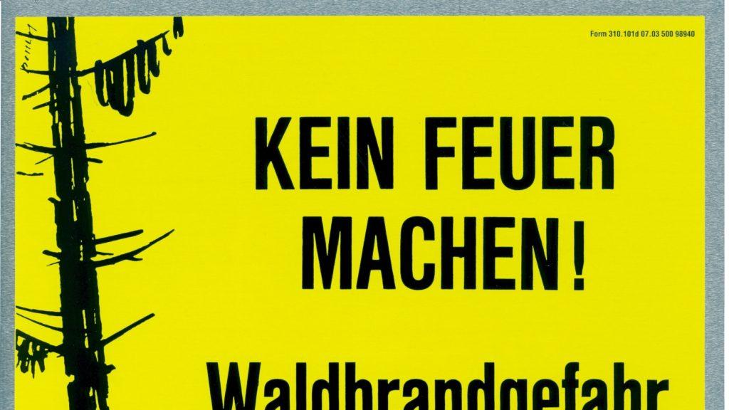Feuerverbot in Schattdorf