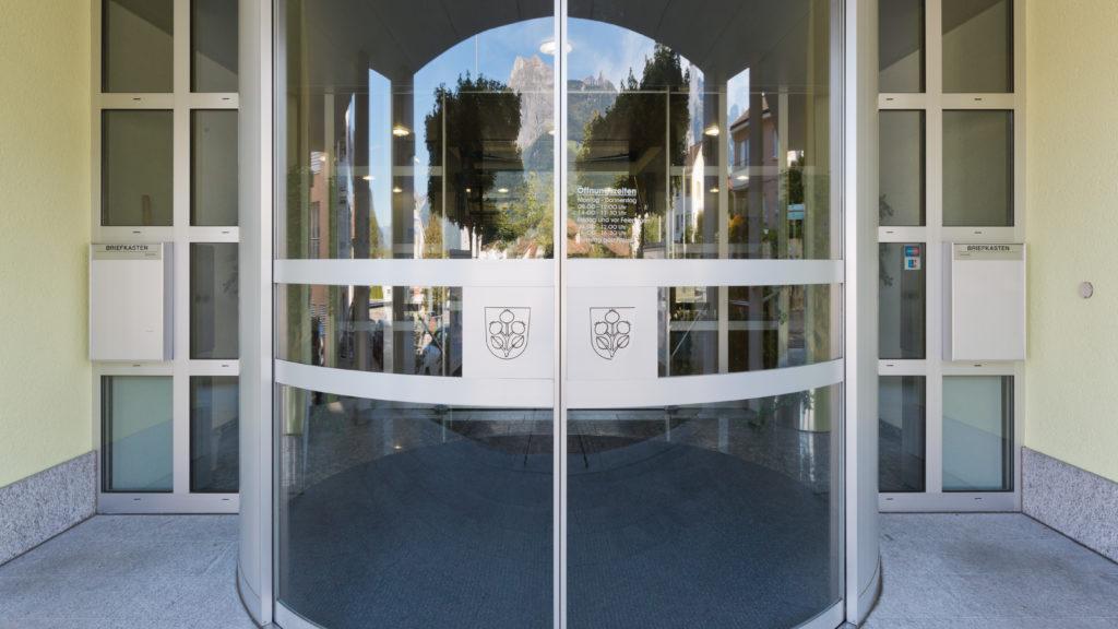 Coronavirus; Zugang Gemeindehaus