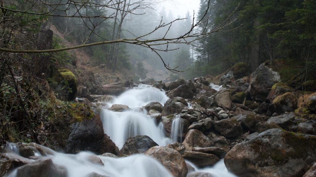Der Gangbach wird hochwassersicher