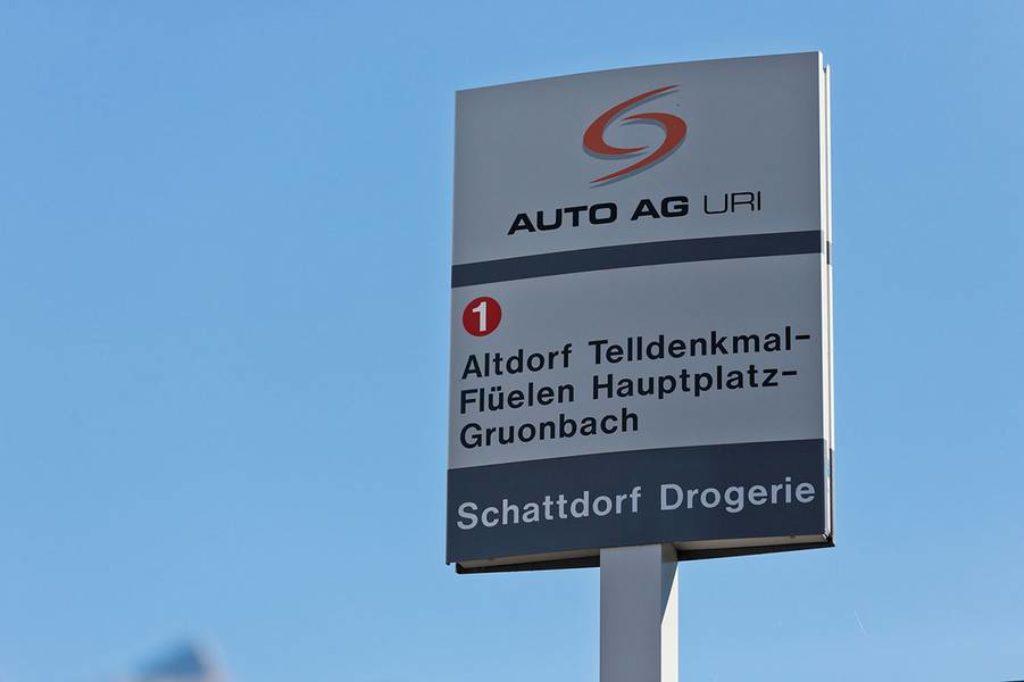 Schattdorf verfügt über ausgezeichnete Busverbindungen.