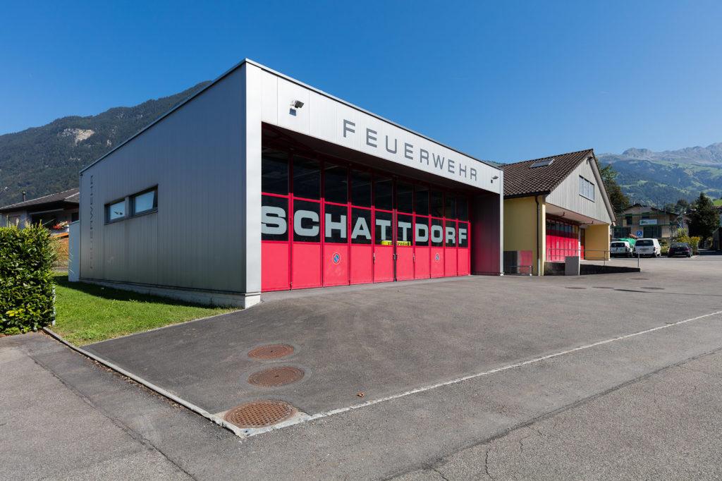 Feuerwehrlokal in Schattdorf