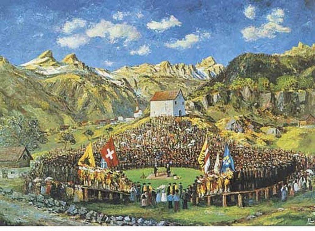 Wandbild von Ludwig Lussmann