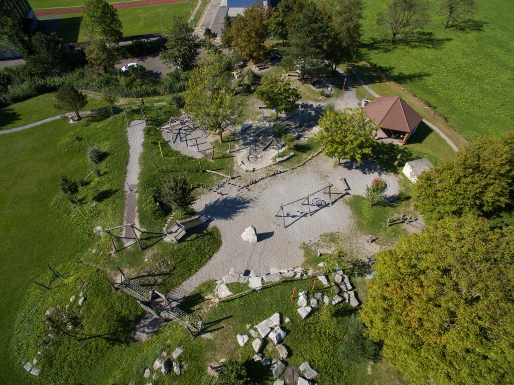 Grösster Spielplatz in Schattdorf