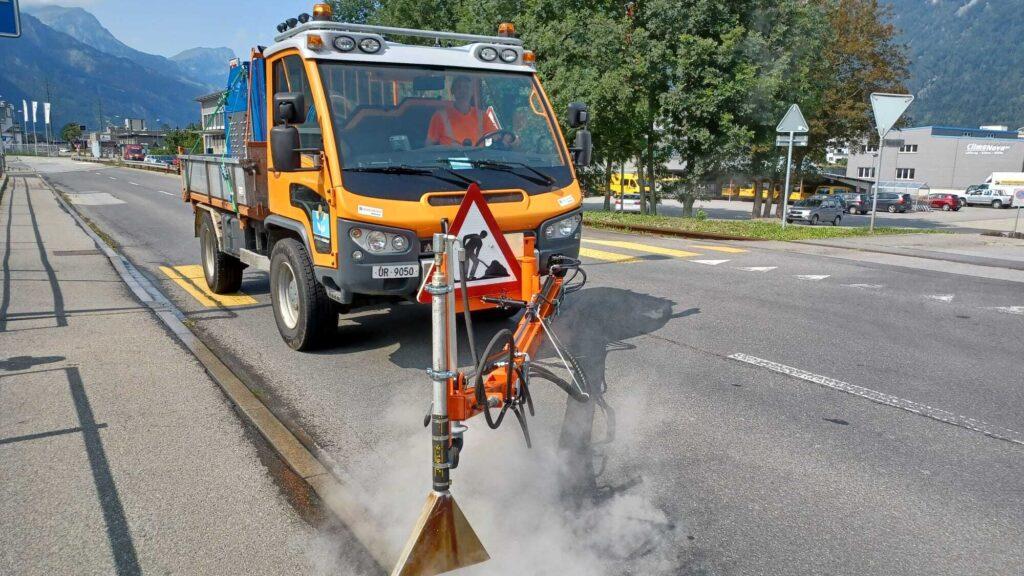 kleinere Verkehrsbehinderungen