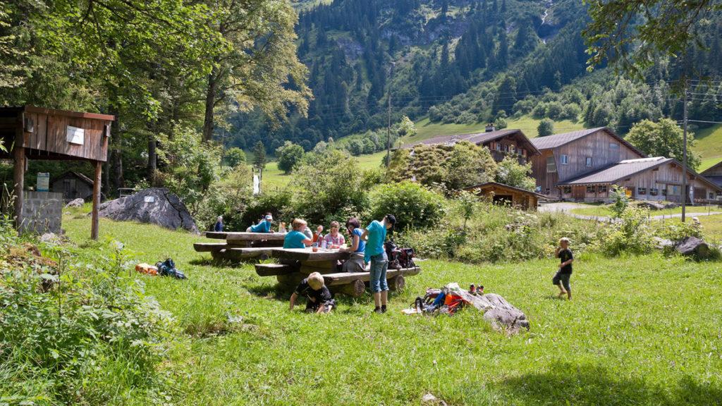Spiel- und Picknickplätze Haldi